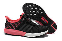 Женские кроссовки Adidas Climachill Gazelle Boost balck-pink, фото 1
