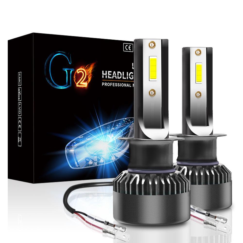 Лампа светодиодная для фар G2 MINI LED  H1  5000 Lum, цвет свечения 6000К, 2 шт/комплект