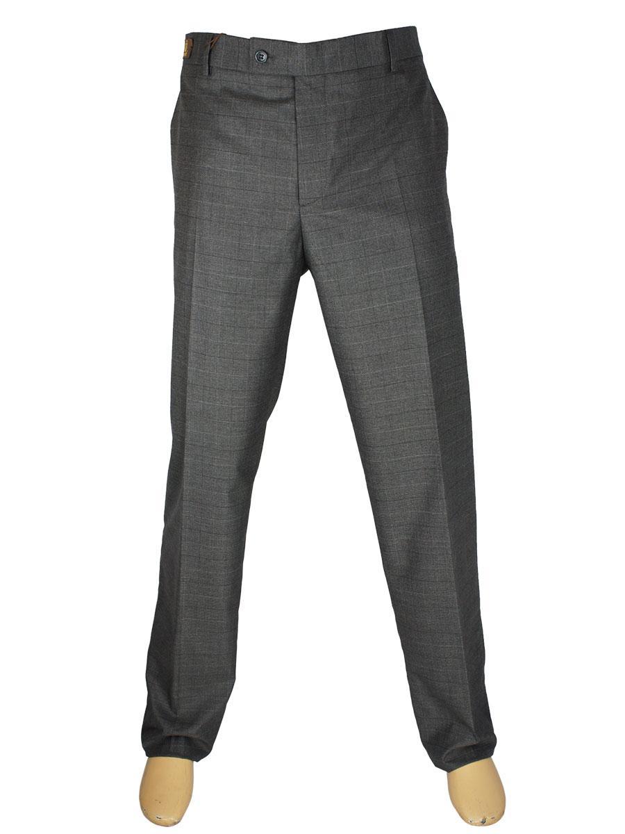 Чоловічі класичні брюки Monzeratti 145/04 dark grey