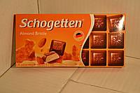 Шоколад Schogetten Almond Brittle, 100 г. Германия