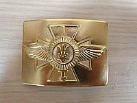 """Бляха латунная ЗСУ """"Крест ВВС"""""""