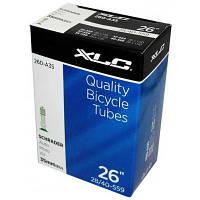 """Велосипедная камера XLC 26"""" x1.0/1.5 (25/40-559) AV35мм (2508261200)"""