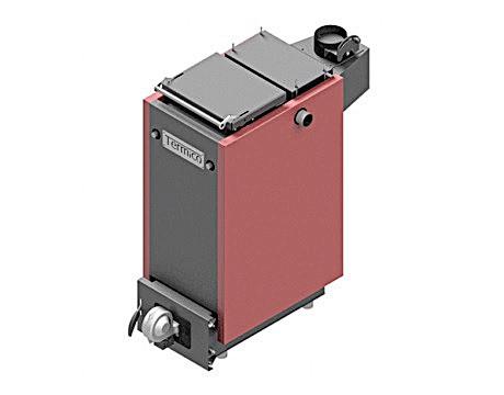 Твердотопливный котел шахтного типа Termico КДГ 35 кВт ( Термико КДГ с автоматикой и электроникой )