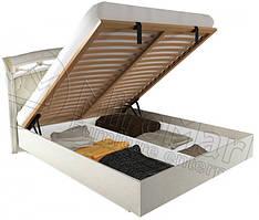 Кровать Роселла подъемная с мягким изголовьем Радика беж ТМ Миро-Марк