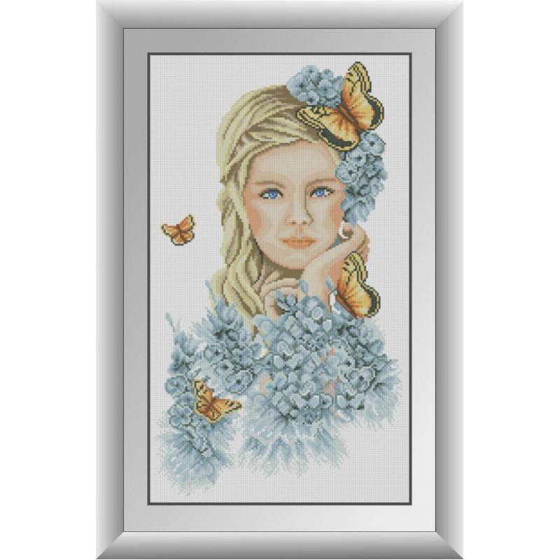 Набор алмазной живописи Желтые бабочки Dream Art 30849 (36 x 62 см)