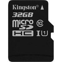 Карта памяти Kingston 32GB microSDHC class 10 UHS-I (SDCS/32GBSP)