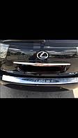 Накладка на задний бампер с надписью Lexus