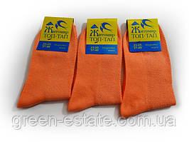Носки женские морковные сетка 23-25 р. (37-40)