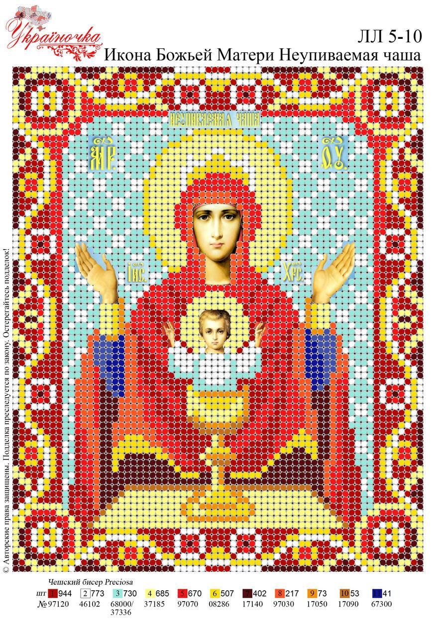 Ікона Божої Матері Неупивна Чаша