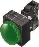 Световые индикаторы Siemens 3SB 3SB3244-6BA40 22 mm, пластик