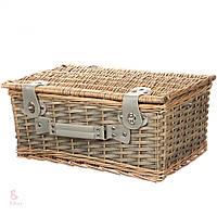 Плетеная корзина для пикника (6 персон) Оптом и в розницу!