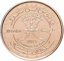 Oman Оман - 10 Baisa  2016 UNC