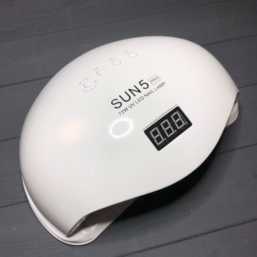 UV/LED Лампа Sun 5 Pro 72 Вт, белая