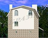 Готовий проект житлового будинку К6, фото 7
