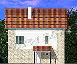Готовий проект житлового будинку К6, фото 8