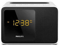 Радиочасы c зарядкой для iPhone/Android Philips AJT5300W/12