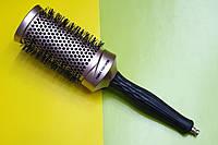 Расчёска круглая для укладки волос. Брашинг керамический EAGLE FORTRESS NANO-IONIC CERAMIC 53мм