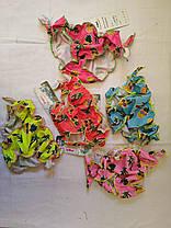 Плавки SAME GAME  для девочек Пальмочка розовый 525(есть  28 30 32 размеры), фото 3