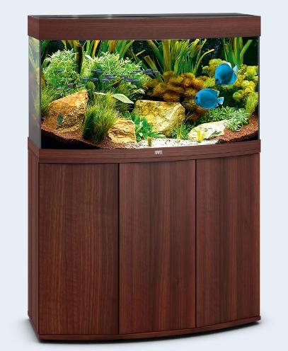 тумба для аквариума коричневая