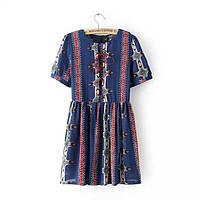 Стильное платье в стиле этно