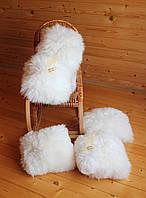 Натуральная меховая подушка 35*35 см