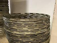 Кольцо поршневое маслосъёмное Д67.08.04.05 Р1/Р2БМЗ ЗАП, фото 1