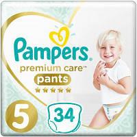 Подгузник Pampers Premium Care Pants Junior Размер 5 (12-17 кг), 34 шт. (8001090759870)