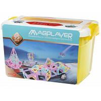 Конструктор Magplayer магнитный набор бокс 95 эл. (MPT2-95)