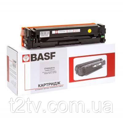 Картридж BASF для HP LJ M252/M277 A аналог CF402A Yellow (KT-CF402A)