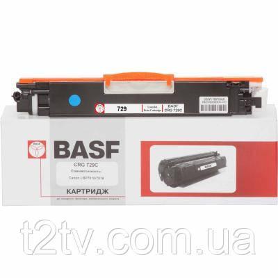 Картридж BASF для Canon LBP 7010C/7018C аналог Canon 729C Cyan (KT-729C)