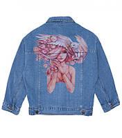 Рисунки на карманах джинс