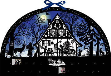 """Адвент календарь Spiegelburg """"Рождество в лесу"""""""
