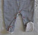 Высокие ползунки хлопковые Морячка р. 62-80 см (Nicol, Польша), фото 5