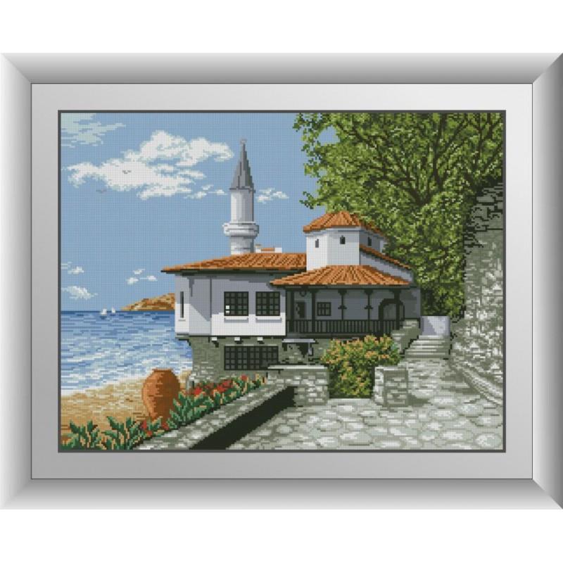 Алмазная мозаика Тихая гавань Dream Art 30845 (48 x 63 см)