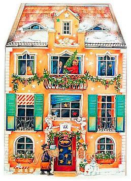 """Адвент календарь Spiegelburg """"В доме на Рождество"""""""