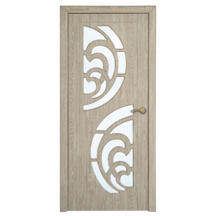 Міжкімнатні двері зі склом Неман ПРИБІЙ Н-44 ялина карпатська