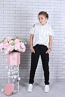 Школьная блузка для девочек от 134 до 164 см рост, фото 1