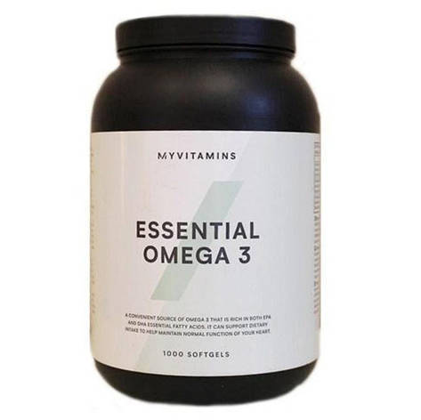 Омега 3 Essential Omega 3 Myvitamins 1000 soft Англия, фото 2