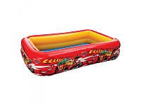 Детский надувной бассейн Intex 57478  Дисней Тачки, 2 камеры, 262-175-56 см.