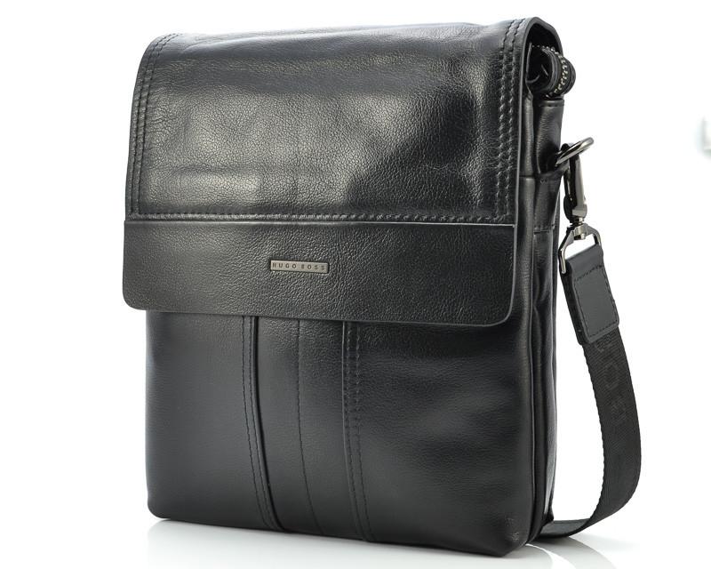 Мужская кожаная сумка Hugo Boss 313-2