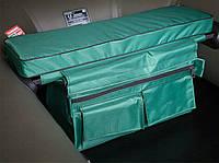 Мягкое сидение для лодки с сумкой-рундуком 650*200*50