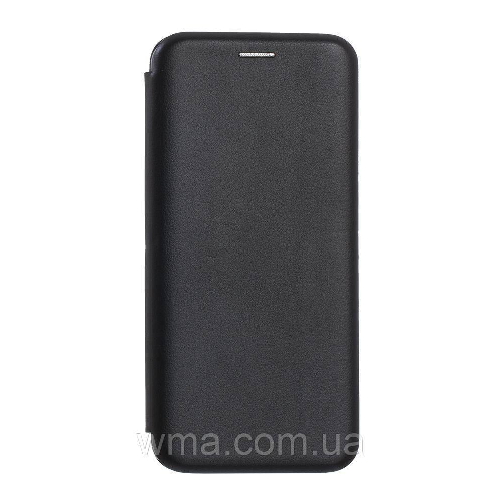 Чехол-Книжка Оригинал Кожа Samsung S9 Plus Цвет Чёрный