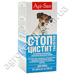 Стоп цистит для собак 20 таблеток