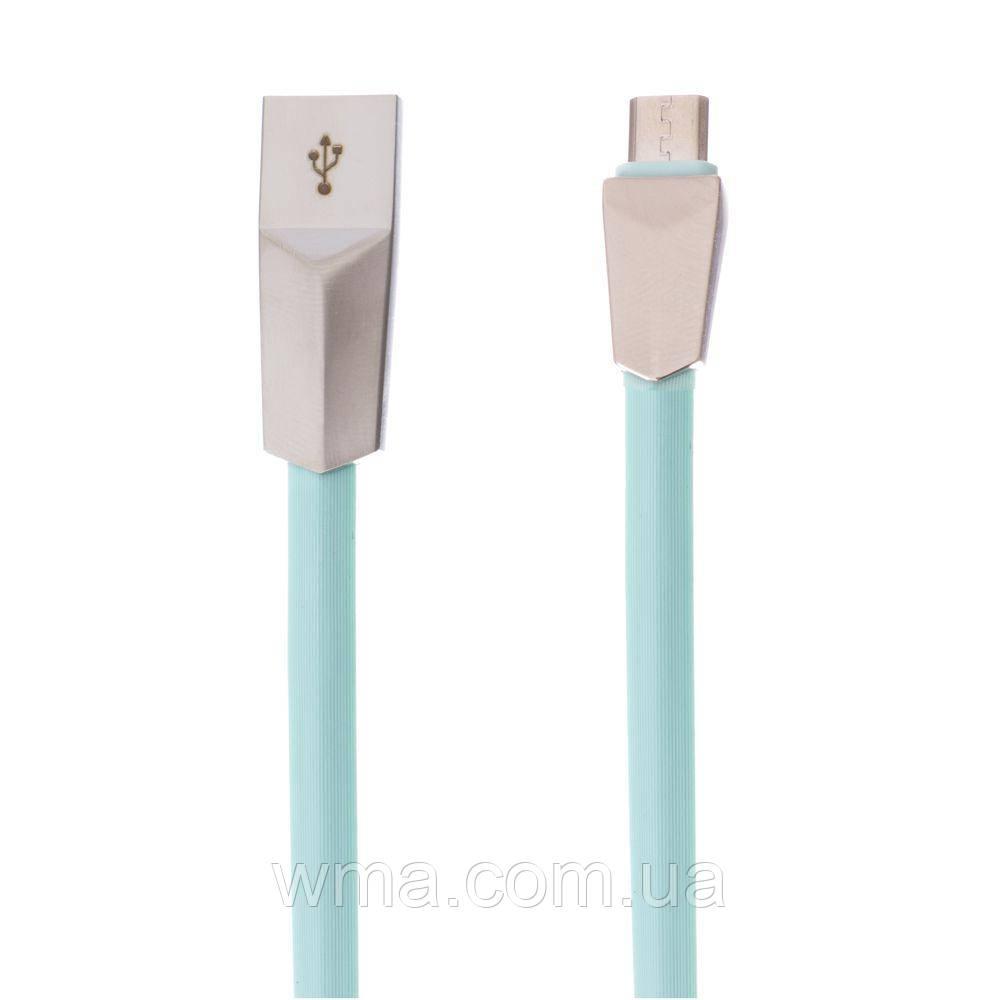 Кабель для зарядки USB (шнур для зарядки телефонов) LDNIO LS26 Micro Цвет Зелёный
