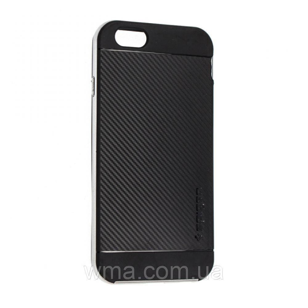 Силикон Spigen 1599 Iphone 6 Plus Цвет Стальной