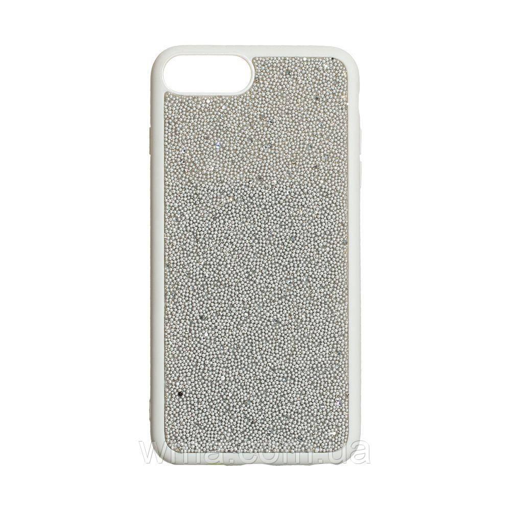 Задняя Накладка Bling World Beads for Apple Iphone 7/8 Plus Цвет Стальной