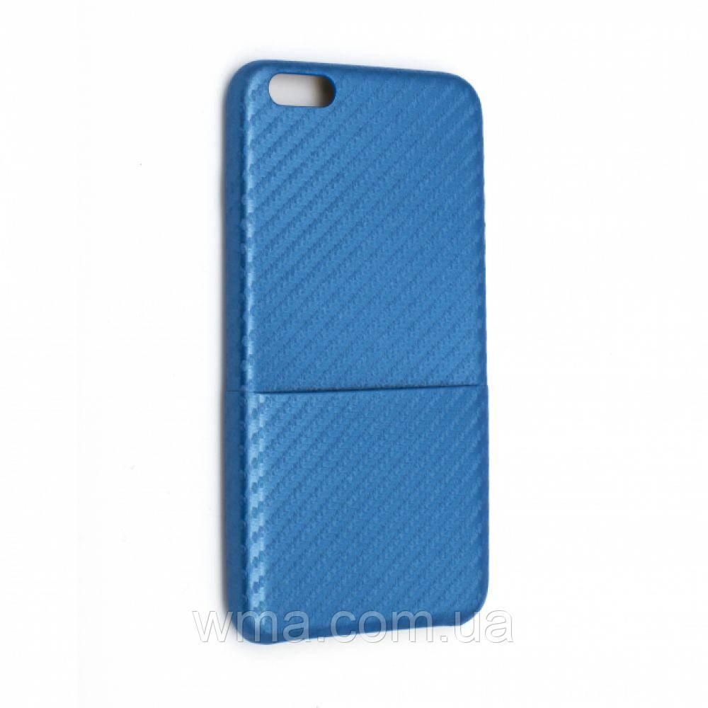 Задняя Накладка Sibling Carbon Fiber Iphone 7 Plus Цвет Голубой