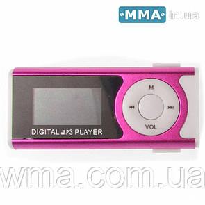 Mp3 player mp3 плеер с дисплеем 255 Характеристика Розовый