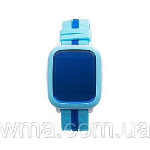 Детские Смарт Часы DS18 GPS Цвет Синий