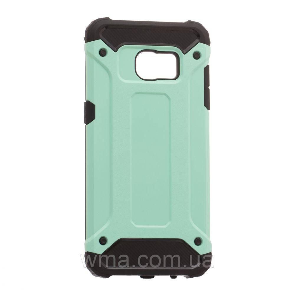 Задняя Накладка Motomo X5 For Samsung S7 Edge Цвет Бирюзовый
